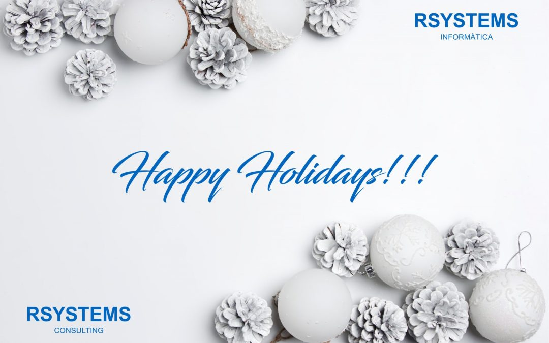 All team of Rsystems Informatica and Rsystems Consulting Team wishes you Happy Holidays!