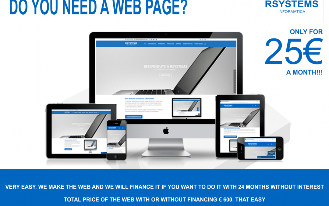 DO YOU NEED A WEB PAGE?