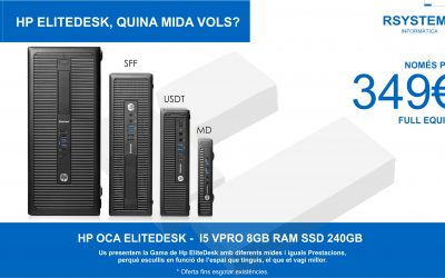 HP ELITEDESK, WHAT SIZE DO YOU WANT?